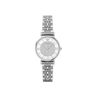 阿玛尼手表银色满天星