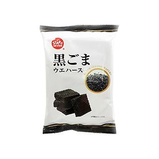 星七黑芝麻威化饼干