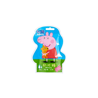 小猪佩奇异形奶片糖