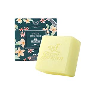 食材花园羊奶系列香肤皂-香橙花