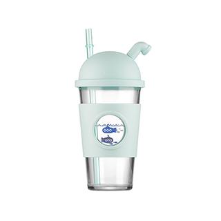 百安思吸管玻璃杯WBD01-500