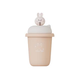 马克迷你便携奶茶暖手宝充电宝-兔子