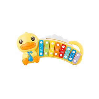 小黄鸭多彩手敲琴