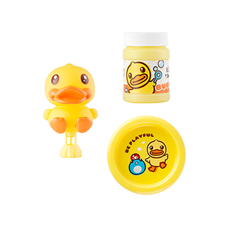 小黄鸭吹泡泡套装