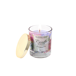食材花园植物香氛蜡烛-浪漫薰衣草