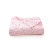 Josie全棉针织菱格纹儿童盖毯