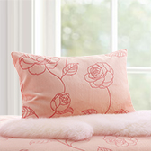 Camellia山茶花系列柔暖枕套-对装