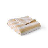 Bell贝尔法兰绒条纹毛毯