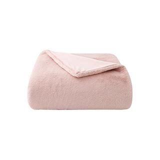 Nadine轻奢仿兔绒加厚双面毯