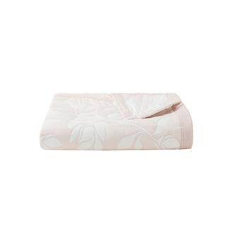 Laila梦趣棉质提花夏凉毯-夜合