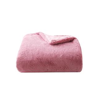 Gaye仿兔绒系列加厚双层毯
