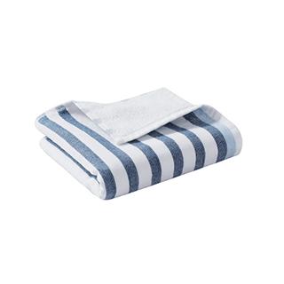 Marine海洋风全棉柔软纱布方巾