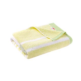 Elin时尚拼色系列柔软全棉浴巾