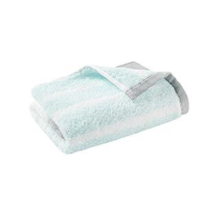 Elin时尚拼色系列柔软全棉方巾