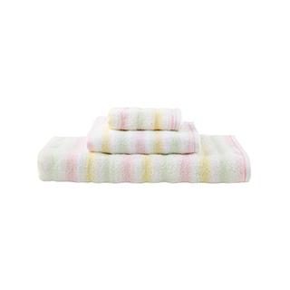 Miley米莉尔色织全棉毛巾礼盒(3件组)