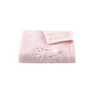 Quincy精梳长绒棉方巾-小兔