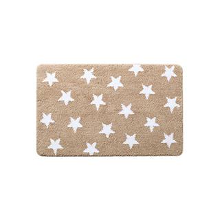 Curran超细纤维加大防滑地垫-星星款