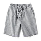 Flax亚麻休闲直筒中裤(男士)