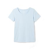 Pima皮马棉女士纯色T恤(圆领)