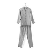 Jodie全棉三层纱系列男士家居服套装(立领)