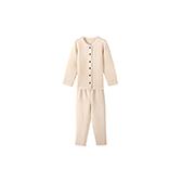 Noel彩棉空气层女童保暖家居服套装