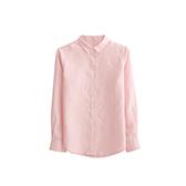 Farris亚麻系列女士长袖衬衫(方领)