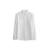 Farris亚麻系列男士长袖衬衫(方领)