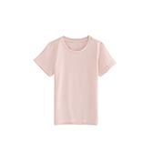 Pima皮马棉儿童纯色休闲T恤(圆领)