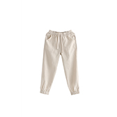Poole亚麻系列儿童休闲长裤