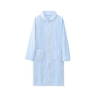 Reina法兰绒系列长款浴袍-男士