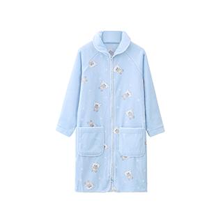 Polarland极地系列法兰绒长款浴袍-儿童