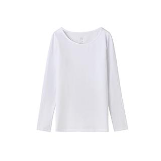 Mercery丝光系列精梳棉长袖T恤-女士