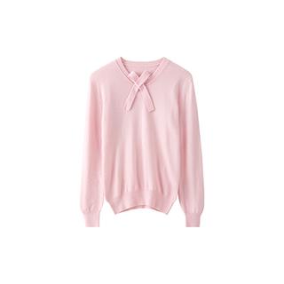 Schiele希尔黎品质精纺羊绒衫-甜美款