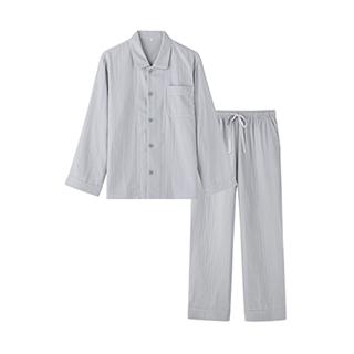 Stripe三层纱家居套装-男士纯色