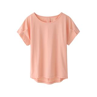 Talisa设计感修身T恤-女士