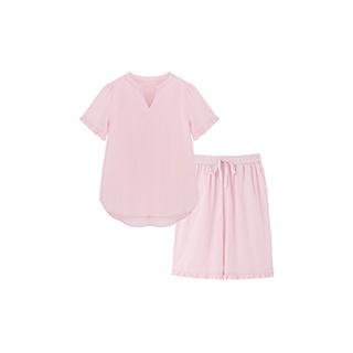 Carry水洗棉系列短袖家居服套装-女童