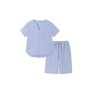 Carry水洗棉系列短袖家居服套装-男童