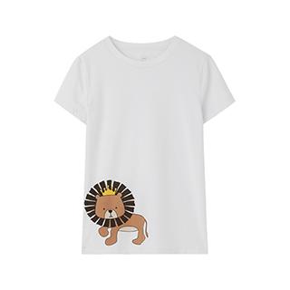 Families亲子系列狮子T恤-女士