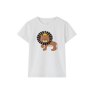 Families亲子系列狮子T恤-儿童