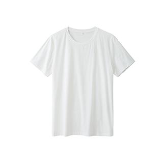 Ennis丝光棉简约短袖T恤-男士圆领