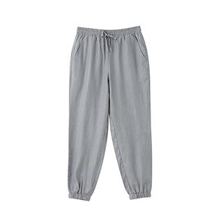 Poole亚麻系列简约小脚裤-男士