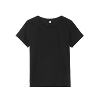 [nns]丝光棉基本款v领T恤 男款