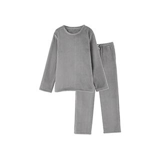 Ariel法兰绒系列男童家居套装-条纹款