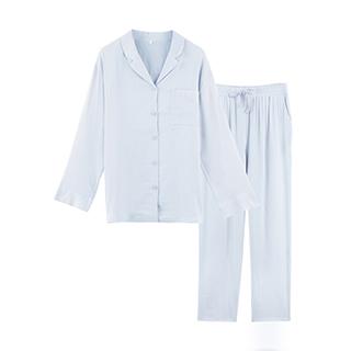 AiryTech空气感法式透气纱长袖家居服-女士