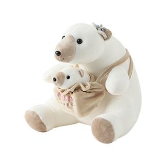 Cutey治愈萌系卡通公仔-北极熊妈妈