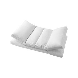 Swans轻奢双芯乳胶鹅绒枕