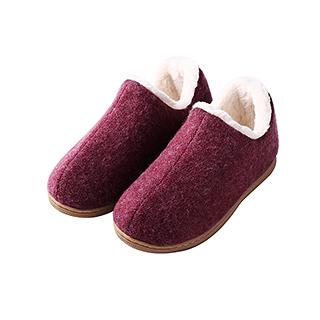 Della德拉加厚毛绒家居暖靴