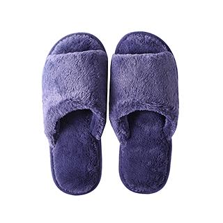 Maura软萌系列柔暖毛绒家居拖鞋