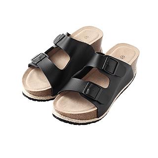 Pack帕克增高型软木休闲鞋