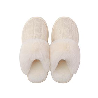Bake柔暖防滑家居拖鞋-绒线款
